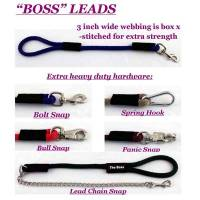 Heavy Duty Hardware Leashes for Large Dogs - Custom Hardware Snap Leashes