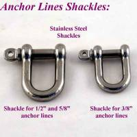Hunting Boat Lines - Hunting Boat Anchor Line Shackles