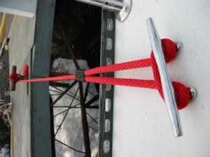 "Soft Lines, Inc. - 15 Ft Boat Dock Line/Mooring Rope - 5/8"" Round Polypropylene"