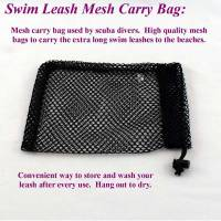 "Mesh storage bag for dog leashes, 8"" by 10"" dog leash mesh storage bag"