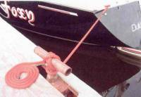 "10 Ft Boat Dock Line/Mooring Rope - 1/2"" Round Polypropylene"