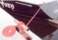 "20 Ft Boat Dock Line/Mooring Rope - 1/2"" Round Polypropylene"