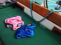 Floating Swim Leash with Stainless Steel Clip