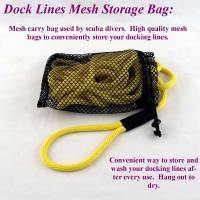 "Nylon Mesh Storage and Drying Bags - 15"" by 22"" Storage Bag - Soft Lines, Inc. - 15"" by 22"" Dock Line Storage Bag"